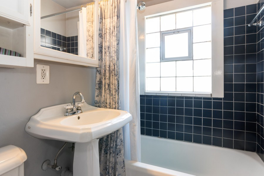 Real Estate Photography - 9131 New England Ave., Morton Grove, IL, 60053 - Bathroom