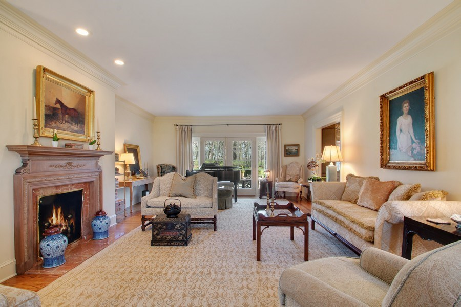 Real Estate Photography - 7208 White Oaks Road, Harvard, IL, 60033 - Living Room