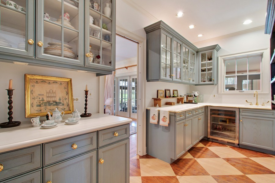 Real Estate Photography - 7208 White Oaks Road, Harvard, IL, 60033 - Butler's pantry