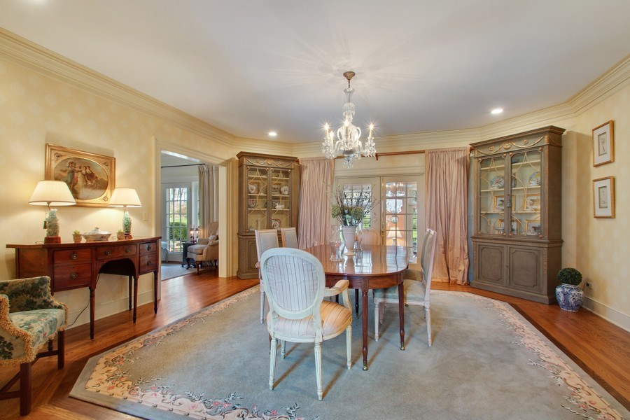 Real Estate Photography - 7208 White Oaks Road, Harvard, IL, 60033 - Dining Room