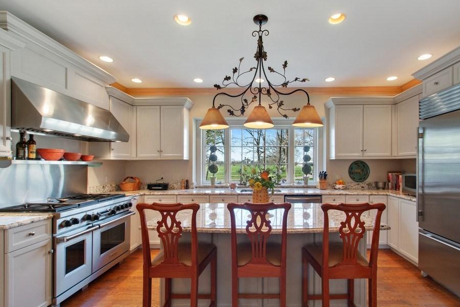 Real Estate Photography - 7208 White Oaks Road, Harvard, IL, 60033 - Kitchen