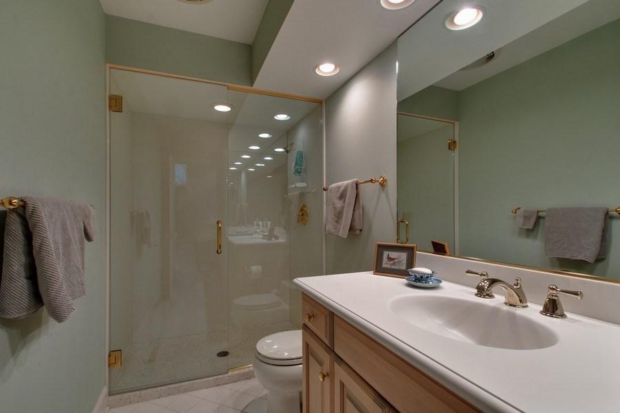Real Estate Photography - 7208 White Oaks Road, Harvard, IL, 60033 - Hall Bath