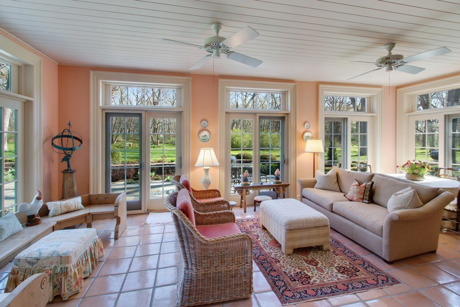 Real Estate Photography - 7208 White Oaks Road, Harvard, IL, 60033 - Sun Room