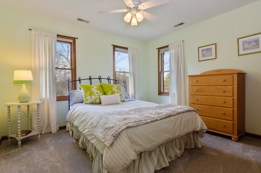 Real Estate Photography - 7724 Dairy Lane, Village of Lakewood, IL, 60014 - 2nd Bedroom