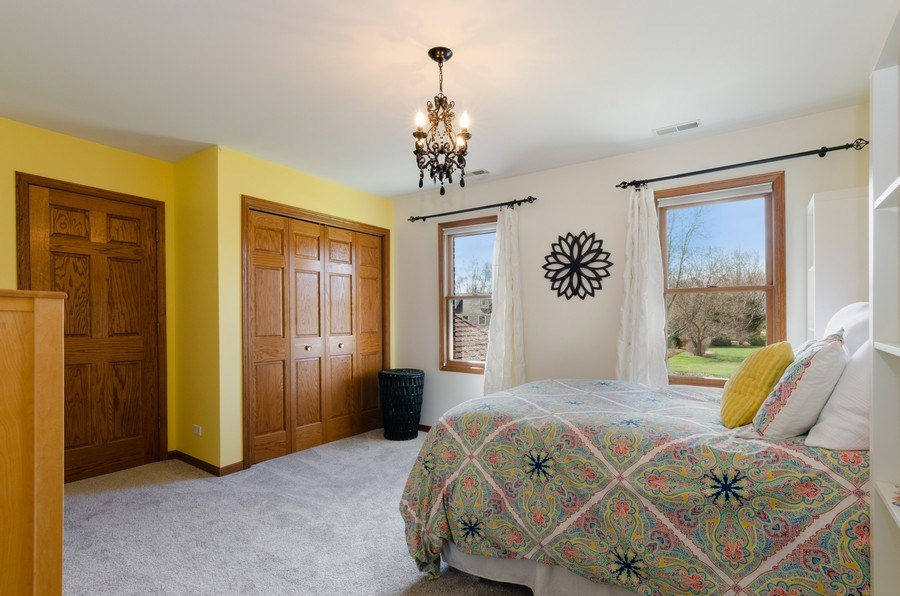 Real Estate Photography - 7724 Dairy Lane, Village of Lakewood, IL, 60014 - 4th Bedroom