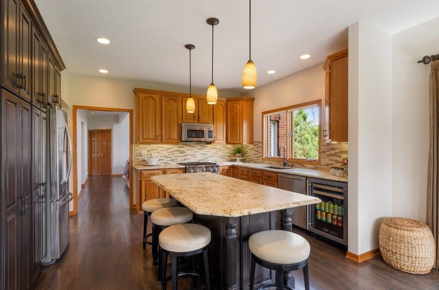 Real Estate Photography - 7724 Dairy Lane, Village of Lakewood, IL, 60014 - Kitchen