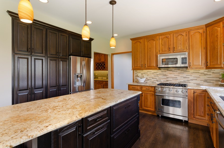 Real Estate Photography - 7724 Dairy Lane, Village of Lakewood, IL, 60014 - Kitchen