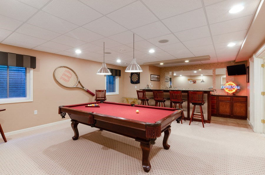 Real Estate Photography - 7724 Dairy Lane, Village of Lakewood, IL, 60014 - Basement