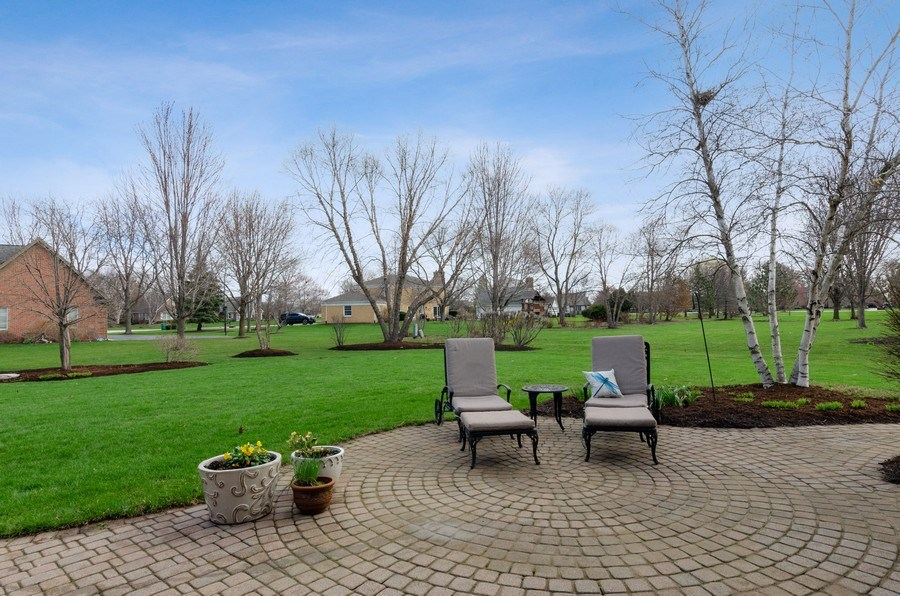 Real Estate Photography - 7724 Dairy Lane, Village of Lakewood, IL, 60014 - Back Yard
