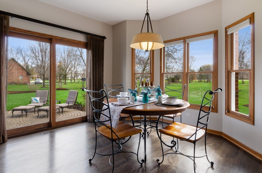 Real Estate Photography - 7724 Dairy Lane, Village of Lakewood, IL, 60014 - Breakfast Area