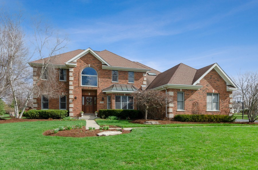 Real Estate Photography - 7724 Dairy Lane, Village of Lakewood, IL, 60014 - Front View