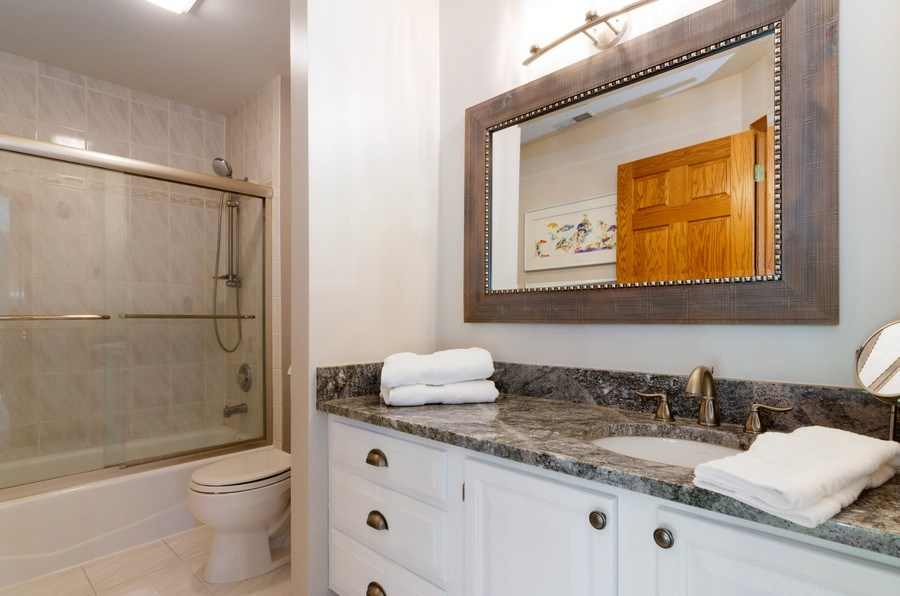 Real Estate Photography - 7724 Dairy Lane, Village of Lakewood, IL, 60014 - 2nd Bathroom