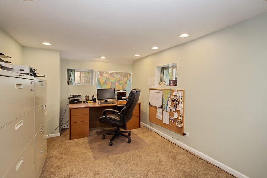 Real Estate Photography - 904 W George St, Arlington Heights, IL, 60005 - Office