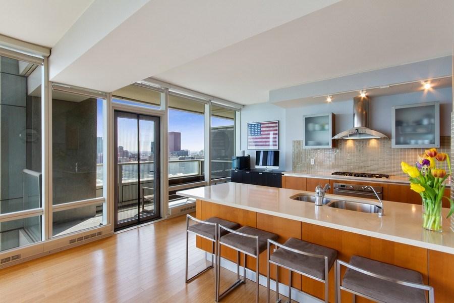Real Estate Photography - 340 E Randolph, 2901, Chicago, IL, 60601 - Kitchen
