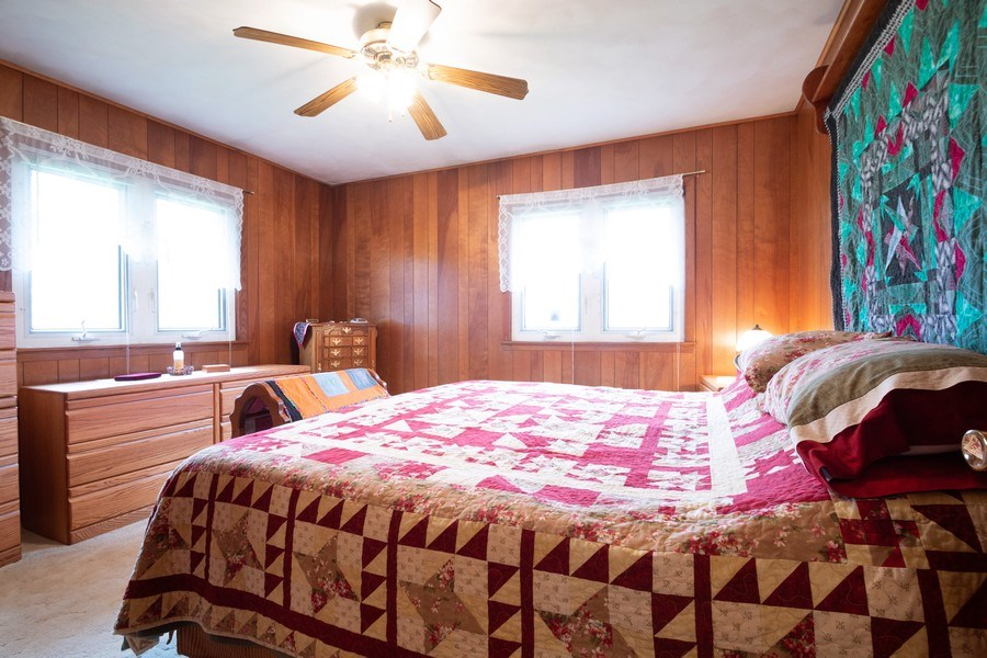 Real Estate Photography - 21209 E US Highway 14, Harvard, IL, 60033 - Master Bedroom
