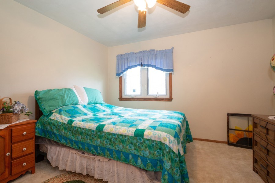 Real Estate Photography - 21209 E US Highway 14, Harvard, IL, 60033 - 2nd Bedroom