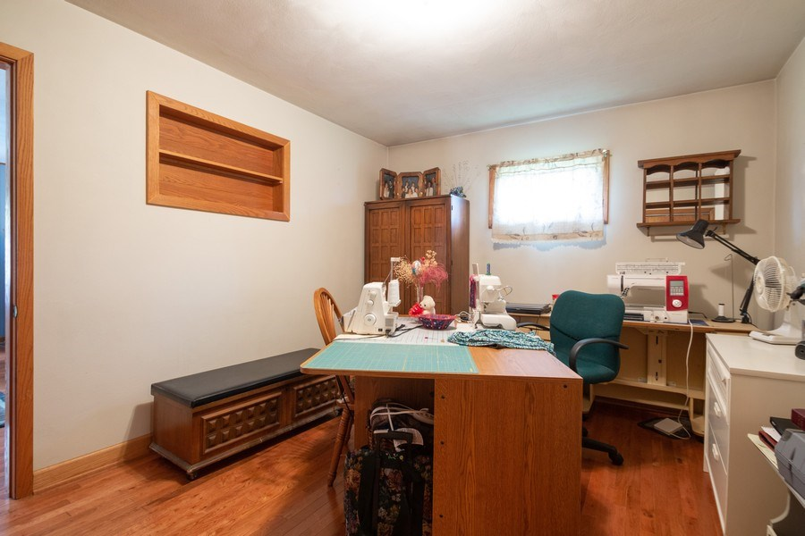 Real Estate Photography - 21209 E US Highway 14, Harvard, IL, 60033 - 3rd Bedroom
