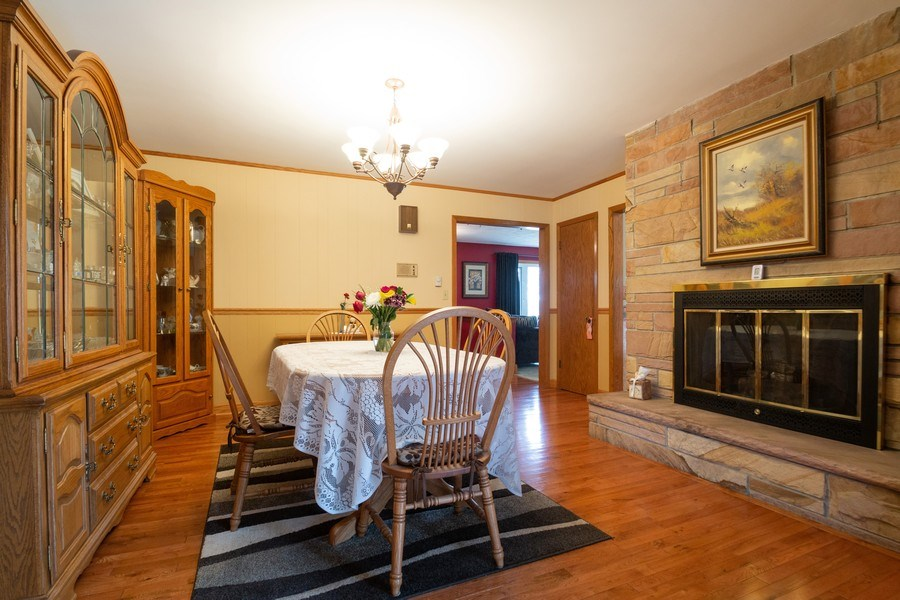 Real Estate Photography - 21209 E US Highway 14, Harvard, IL, 60033 - Dining Room
