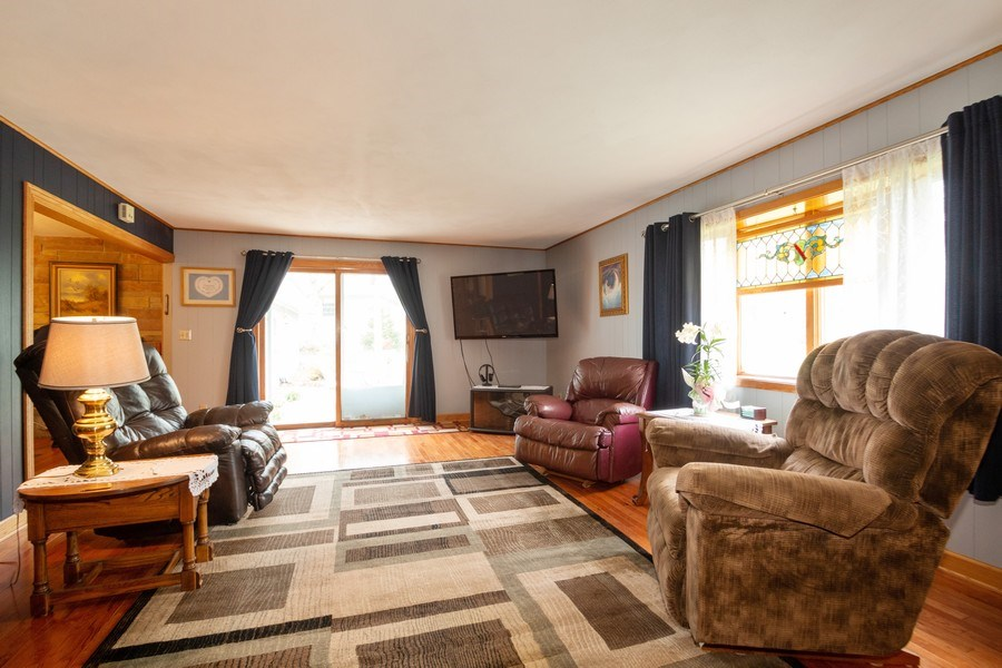 Real Estate Photography - 21209 E US Highway 14, Harvard, IL, 60033 - Family Room