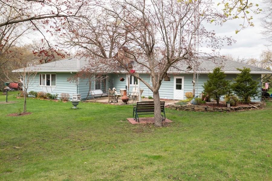 Real Estate Photography - 21209 E US Highway 14, Harvard, IL, 60033 - Rear View