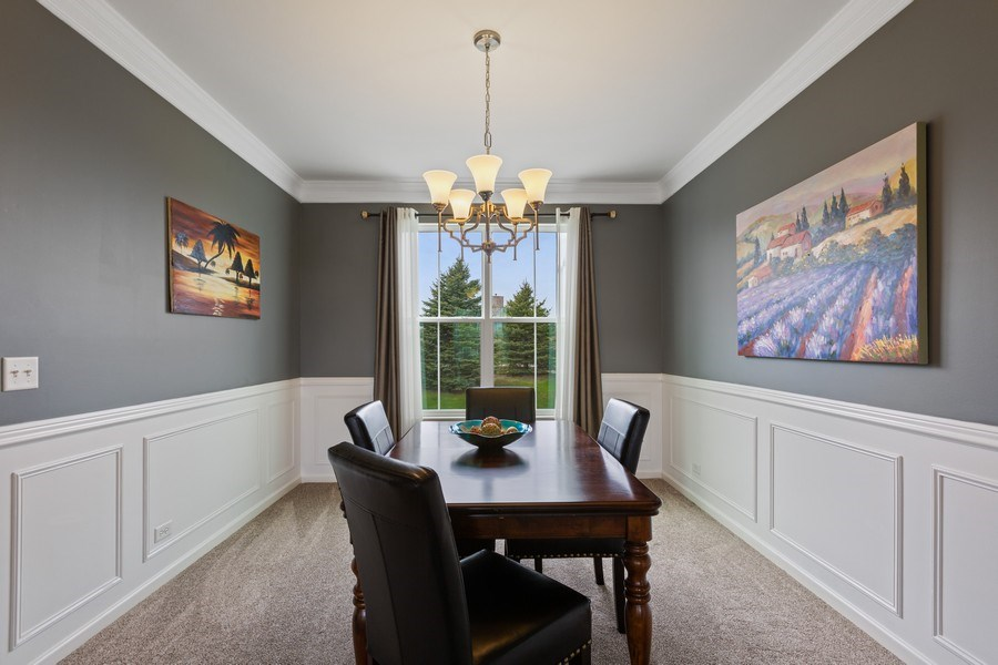 Real Estate Photography - 9405 Cummings St, Huntley, IL, 60142 - Dining Room