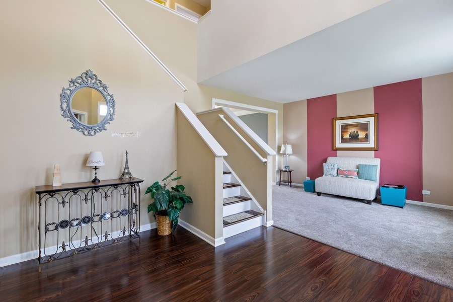 Real Estate Photography - 9405 Cummings St, Huntley, IL, 60142 - Staircase