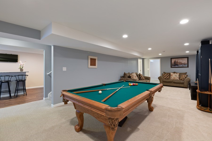 Real Estate Photography - 9405 Cummings St, Huntley, IL, 60142 - Play / Recreational Room
