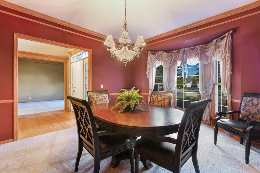 Real Estate Photography - 3 Brindlewood Ct, Algonquin, IL, 60102 - Dining Room