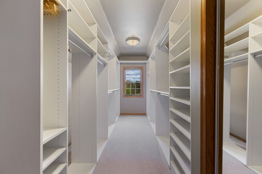 Real Estate Photography - 3 Brindlewood Ct, Algonquin, IL, 60102 - Master Bedroom Closet