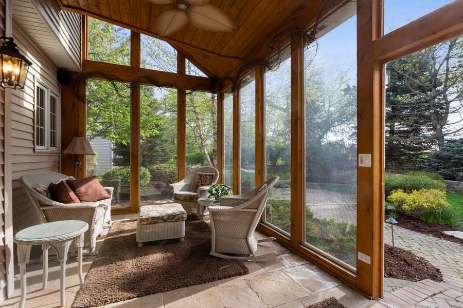 Real Estate Photography - 3 Brindlewood Ct, Algonquin, IL, 60102 - Sun Room