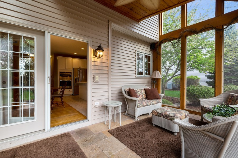 Real Estate Photography - 3 Brindlewood Ct, Algonquin, IL, 60102 - Sunroom