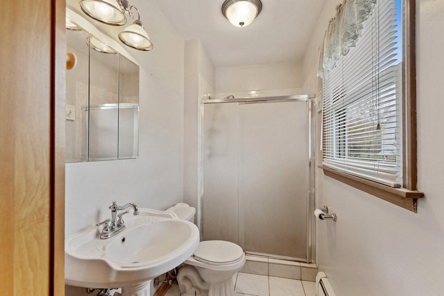 Real Estate Photography - 909 Dundee Avenue, Barrington, IL, 60010 - Master Bathroom