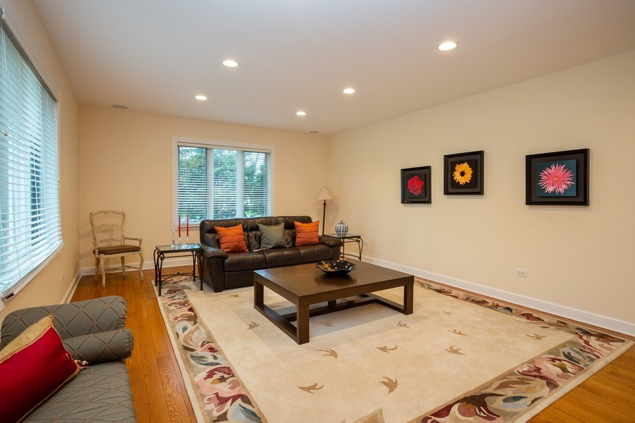 Real Estate Photography - 1514 W. Euclid Ave., Arlington Heights, IL, 60004 - Living Room