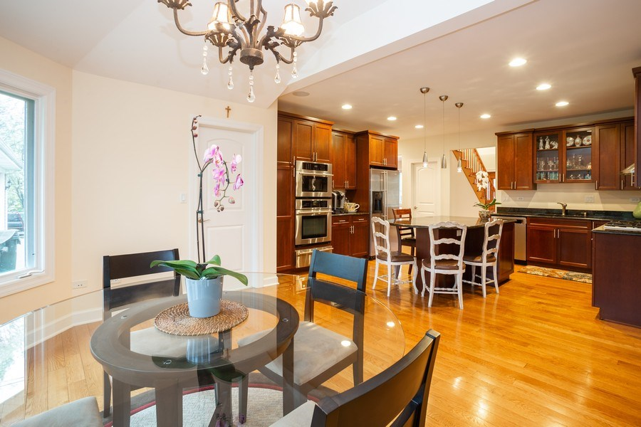 Real Estate Photography - 1514 W. Euclid Ave., Arlington Heights, IL, 60004 - Kitchen / Breakfast Room
