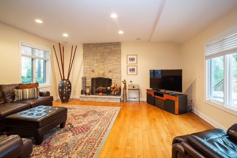 Real Estate Photography - 1514 W. Euclid Ave., Arlington Heights, IL, 60004 - Family Room
