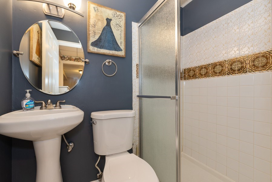 Real Estate Photography - 3679 Whispering Trails, Hoffman Estates, IL, 60192 - 2nd Bathroom
