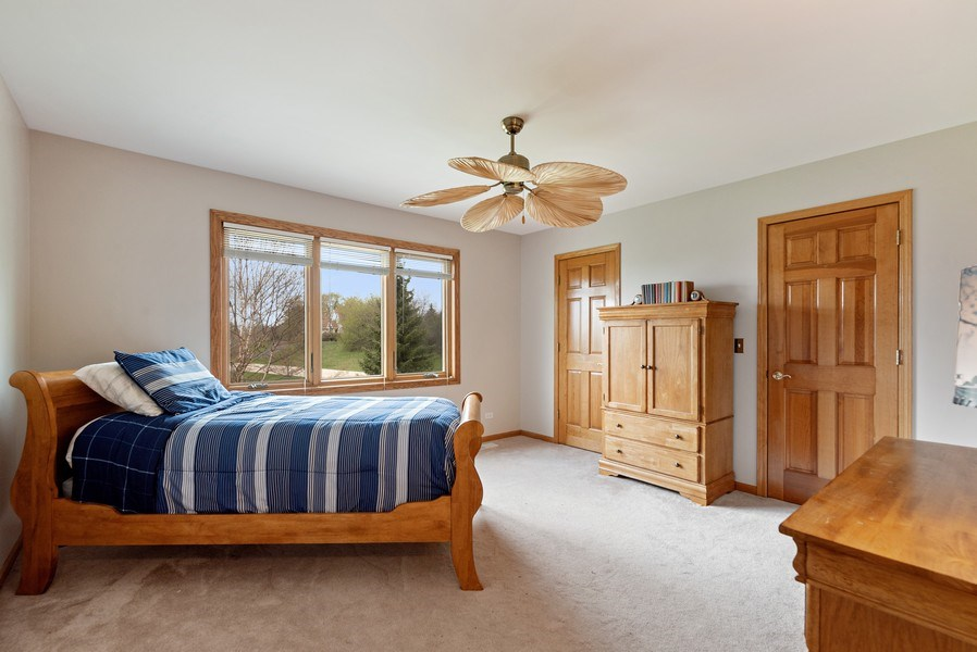 Real Estate Photography - 9121 Loch Glen, Lakewood, IL, 60014 - 2nd Bedroom