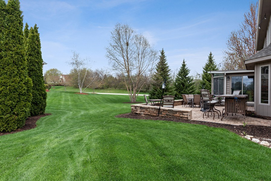 Real Estate Photography - 9121 Loch Glen, Lakewood, IL, 60014 - Back Yard