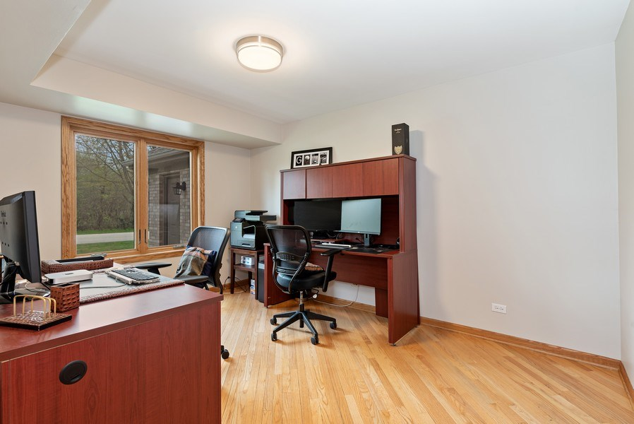 Real Estate Photography - 9121 Loch Glen, Lakewood, IL, 60014 - Office