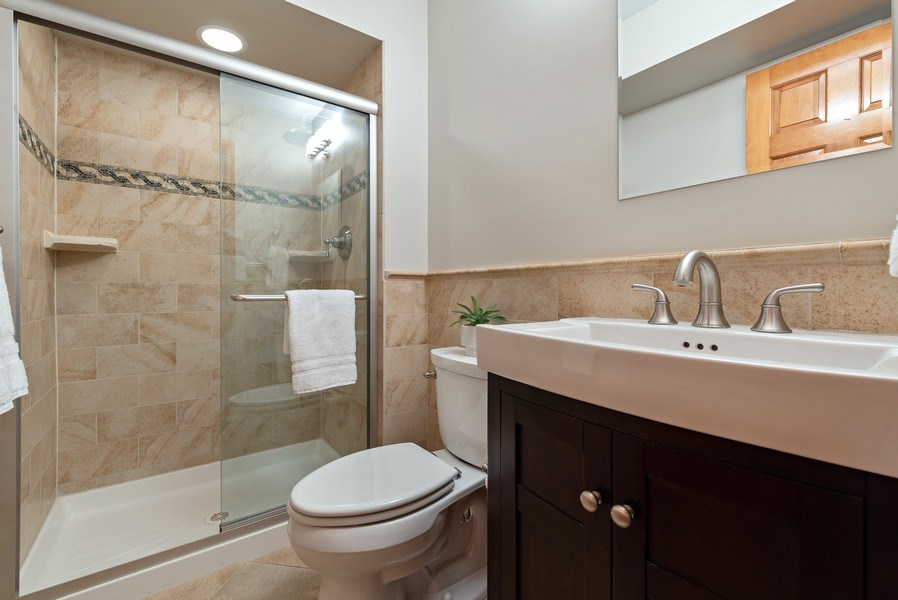 Real Estate Photography - 9121 Loch Glen, Lakewood, IL, 60014 - Bathroom