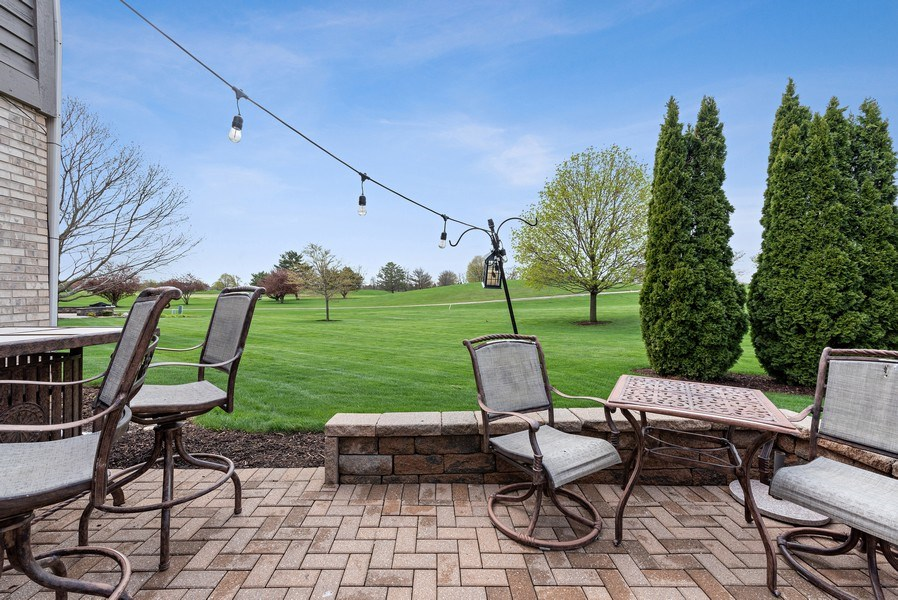 Real Estate Photography - 9121 Loch Glen, Lakewood, IL, 60014 - Patio