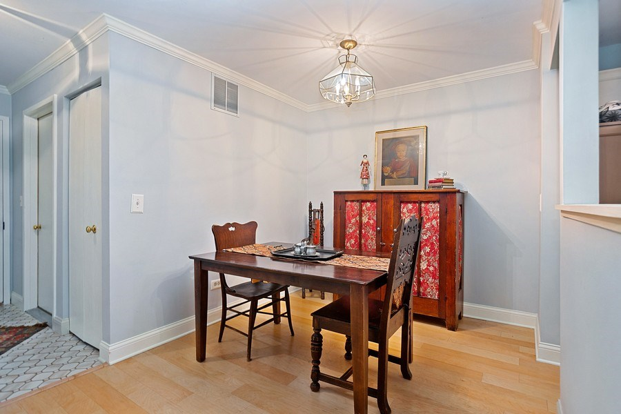 Real Estate Photography - 1968 N. Coldspring Rd., Arlington Heights, IL, 60004 - Dining Room
