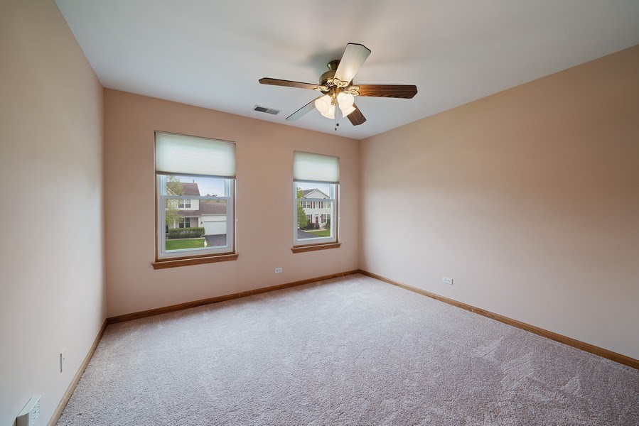 Real Estate Photography - 1951 Fescue, Aurora, IL, 60504 - 2nd Bedroom