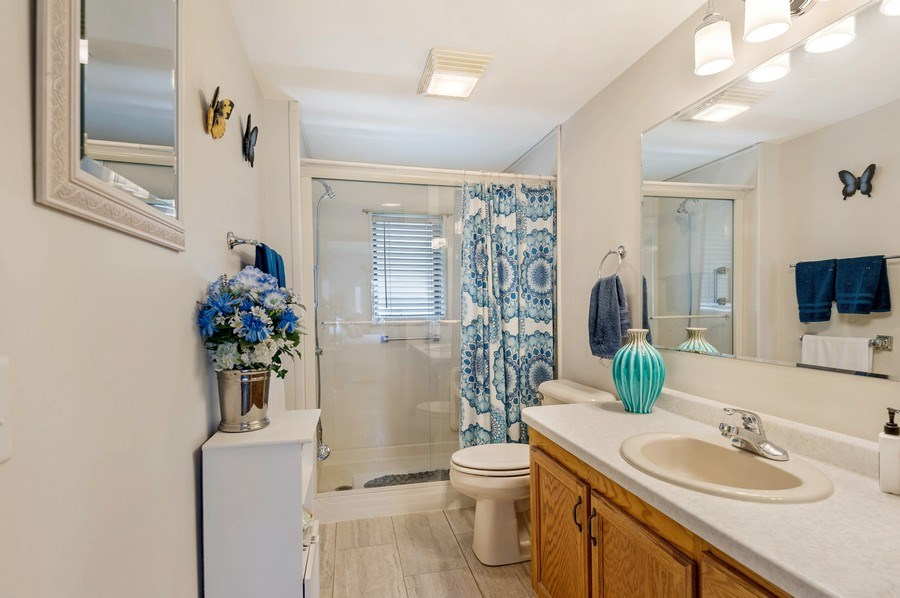 Real Estate Photography - 41038 N Deep Lake Rd, Antioch, IL, 60002 - Master Bathroom