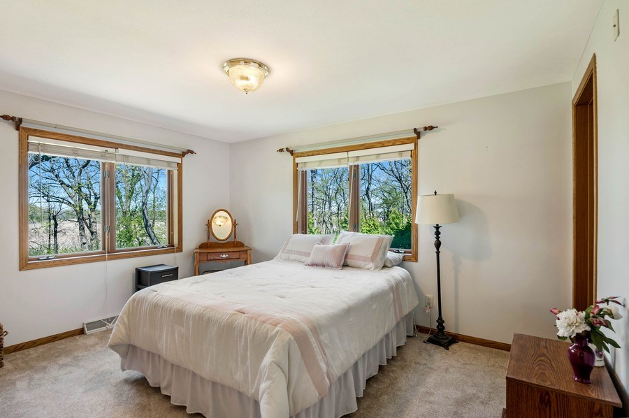 Real Estate Photography - 41038 N Deep Lake Rd, Antioch, IL, 60002 - Master Bedroom