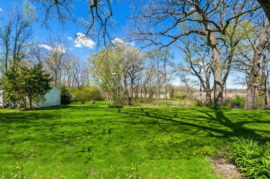 Real Estate Photography - 41038 N Deep Lake Rd, Antioch, IL, 60002 - Back Yard