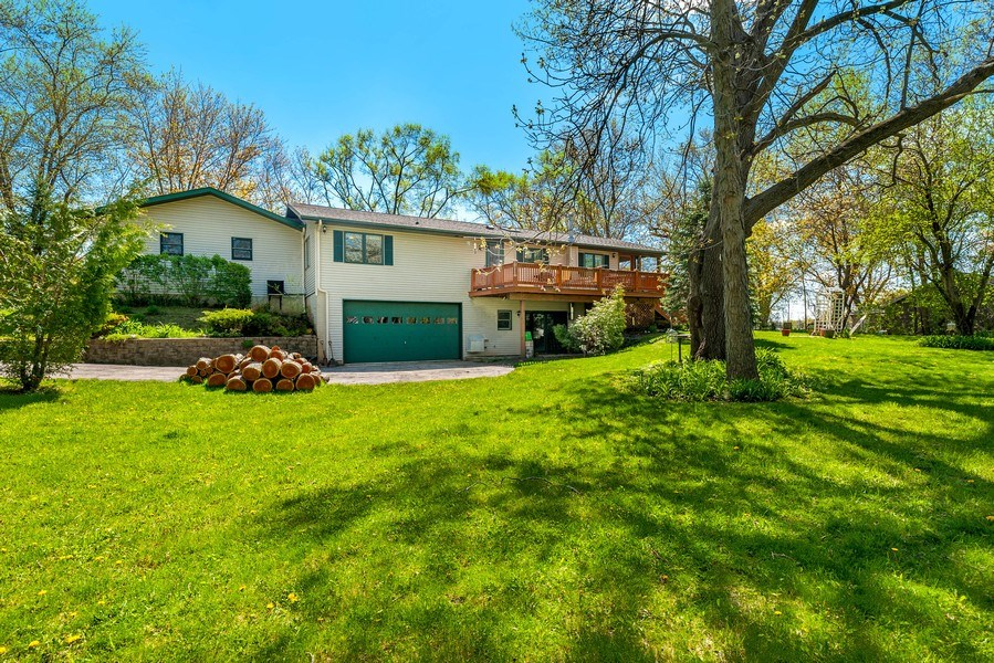 Real Estate Photography - 41038 N Deep Lake Rd, Antioch, IL, 60002 - Rear View