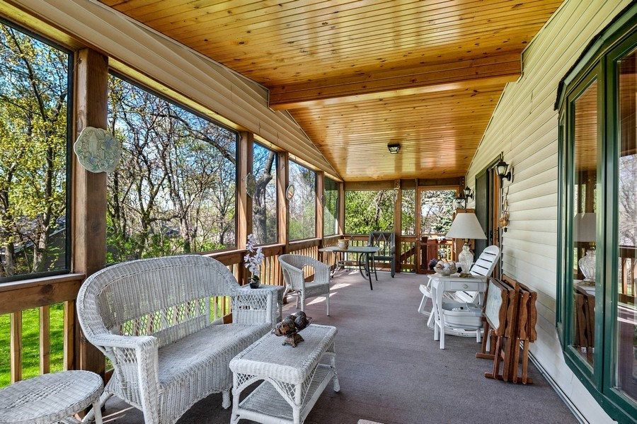 Real Estate Photography - 41038 N Deep Lake Rd, Antioch, IL, 60002 - Porch
