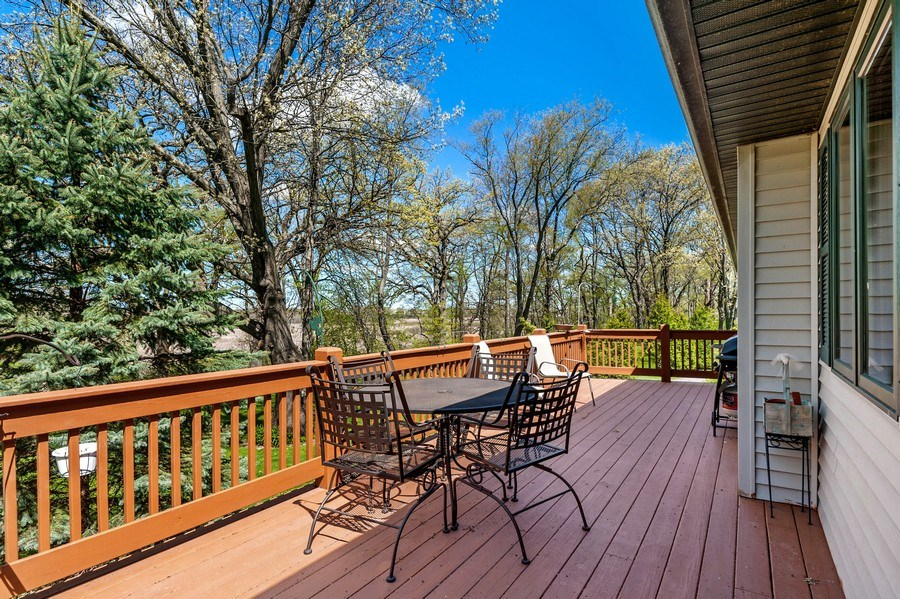Real Estate Photography - 41038 N Deep Lake Rd, Antioch, IL, 60002 - Deck