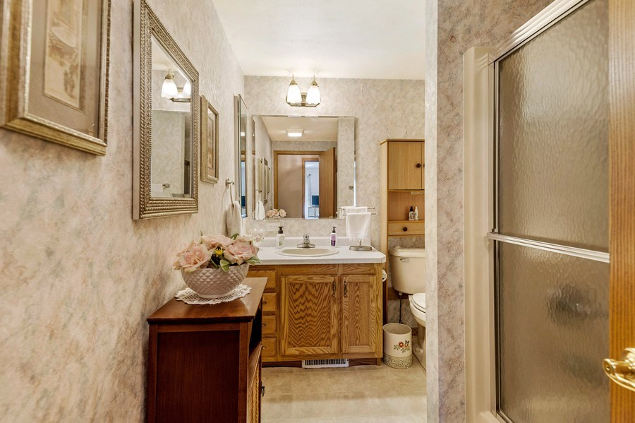 Real Estate Photography - 41038 N Deep Lake Rd, Antioch, IL, 60002 - Bathroom